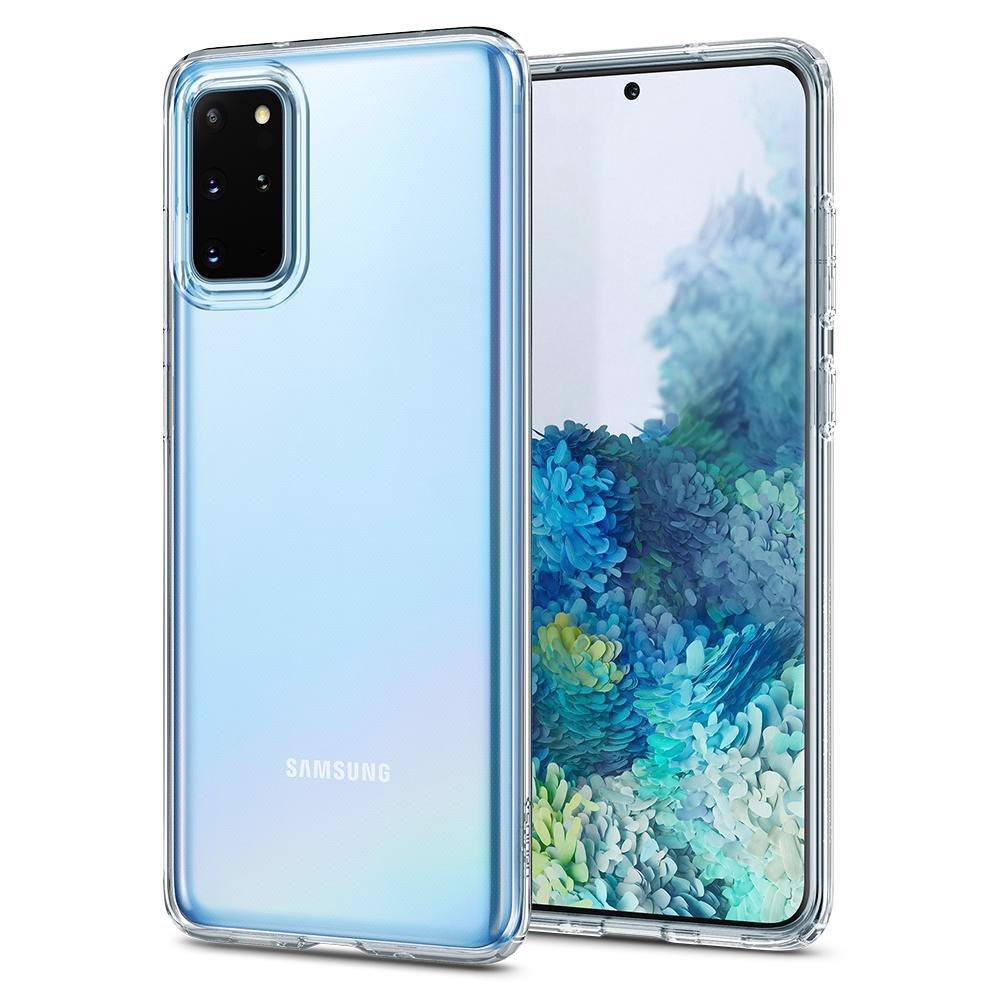 Ốp Samsung Galaxy s20 Plus Spigen Liquid Crystal