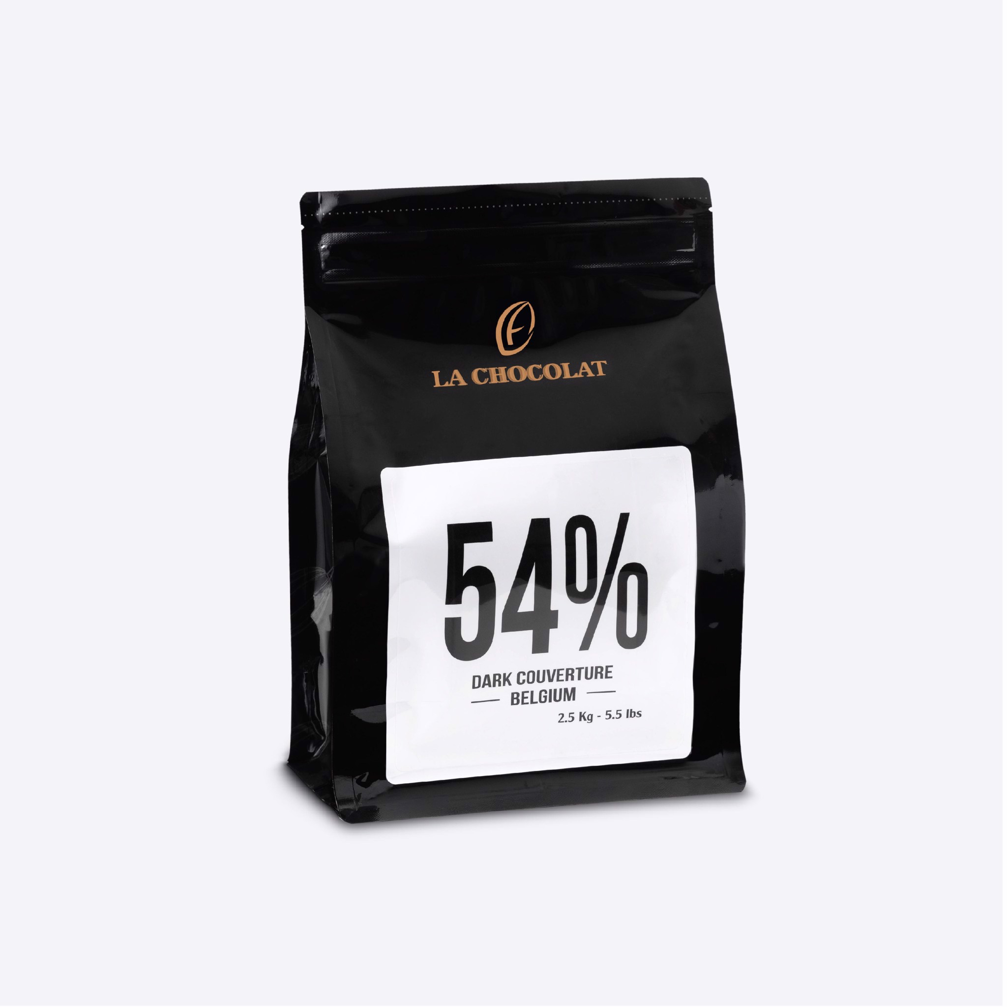 Dark Couverture Chocolate 54% 2.5kg