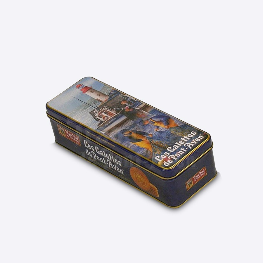 Pencil Tin Of 24 Round Butter Biscuits 200G