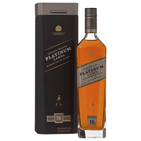 Rượu Johnnie Walker Platinum 40% 18 Years 750ml, Scotland