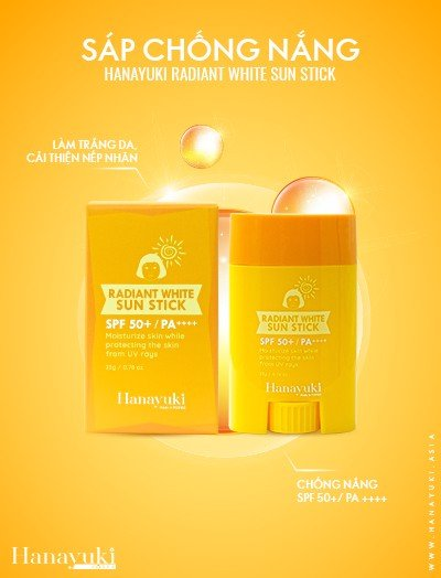 Sáp Chống Nắng – Radiant White Sun Stick
