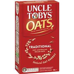 500g Yến Mạch Uncle Tobys Oats Traditional Porridge