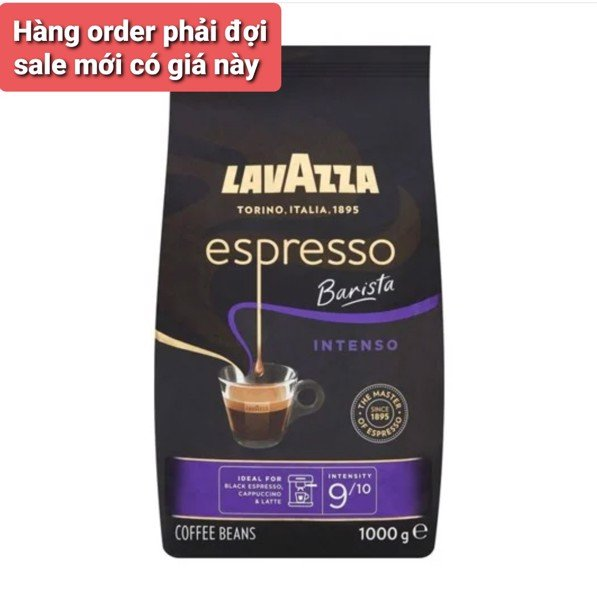 Lavazza Espresso Barista Intenso Coffee Beans- Intensity 9/10