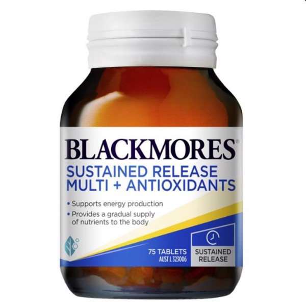 Viên uống Blackmores Sustained Release Multi + Antioxidants-125v
