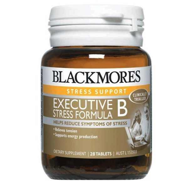 Viên giảm stress Blackmores Executive B Stress Formula 28v