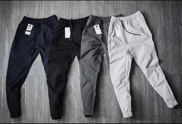 Quần jogger ZARA side Zip