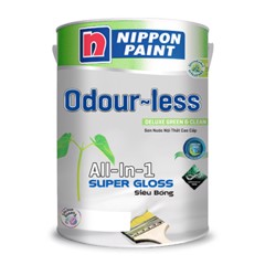 Sơn Odour-less All-in-one Siêu Bóng