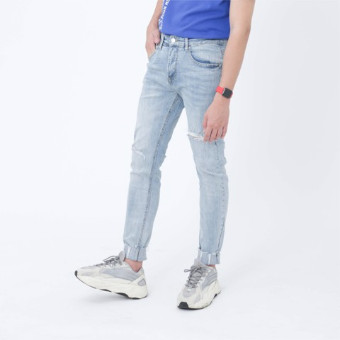 Jeans Slim Fit xanh 01