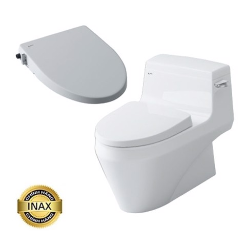 Bồn cầu Inax nắp shower toilet AC-1135 + CW-S15VN