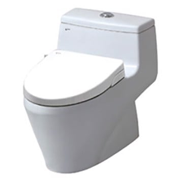 Bồn cầu Inax nắp shower toilet AC-1035 + CW-S15VN