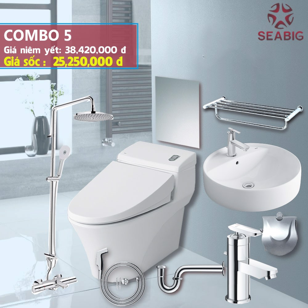 Phòng combo INAX 5 - Phòng cao cấp