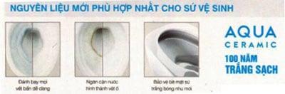 Nguyên liệu mới phù hợp nhất cho sứ vệ sinh