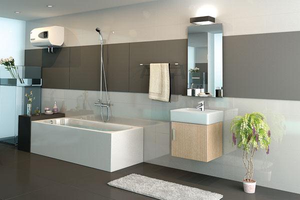 Phòng tắm sử dụng chậu rửa Cabinet Inax CB0504-4IF-B