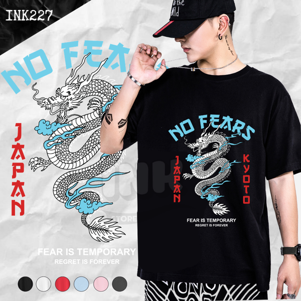 Áo thun NO FEAR JAPAN STYLE INK227