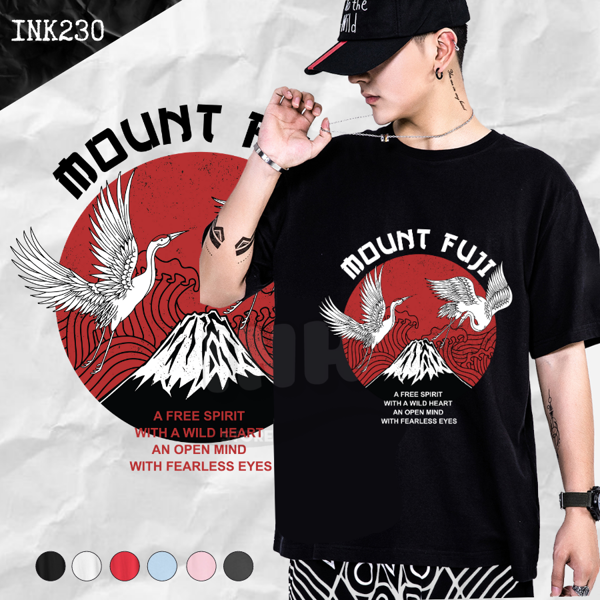 Áo thun MOUNT FUJI JAPAN STYLE INK230