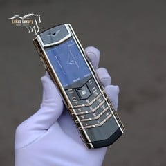 VERTU SIGNATURE S PLATINUM, SELECT KEY SET DIAMOND