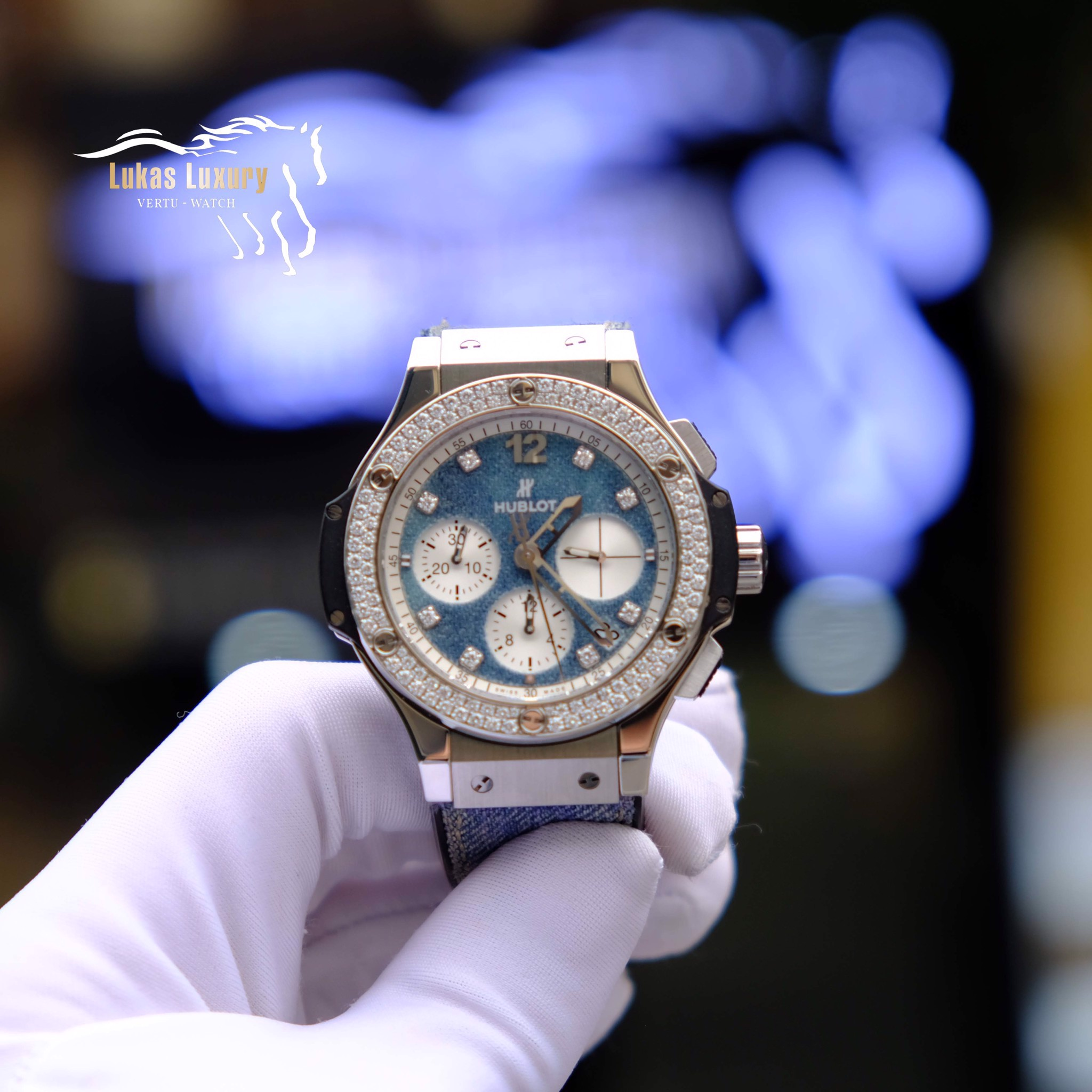 HUBLOT BigBang Jeans Limited Eddition