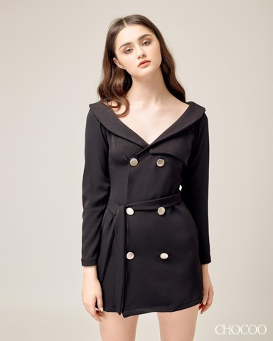 VALERY BLAZER DRESS DW1801