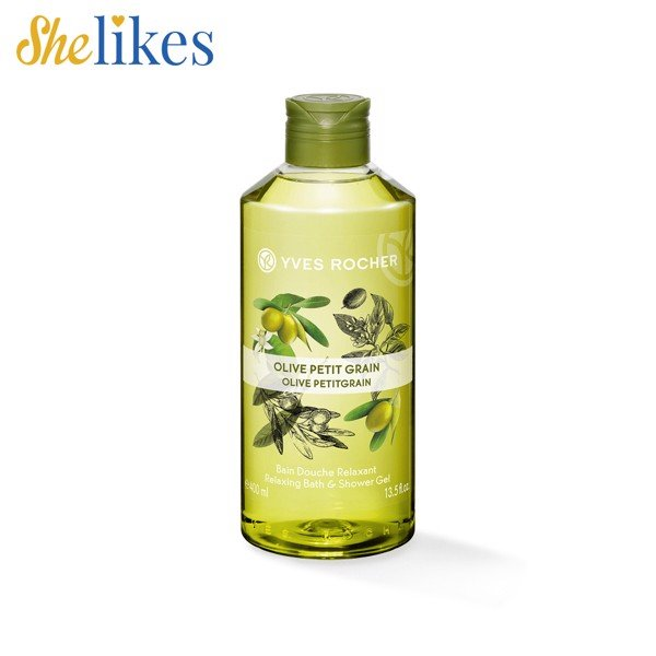 Sữa Tắm Yves Rocher Olive Petit Grain Relaxing Bath Shower Gel (400ml)