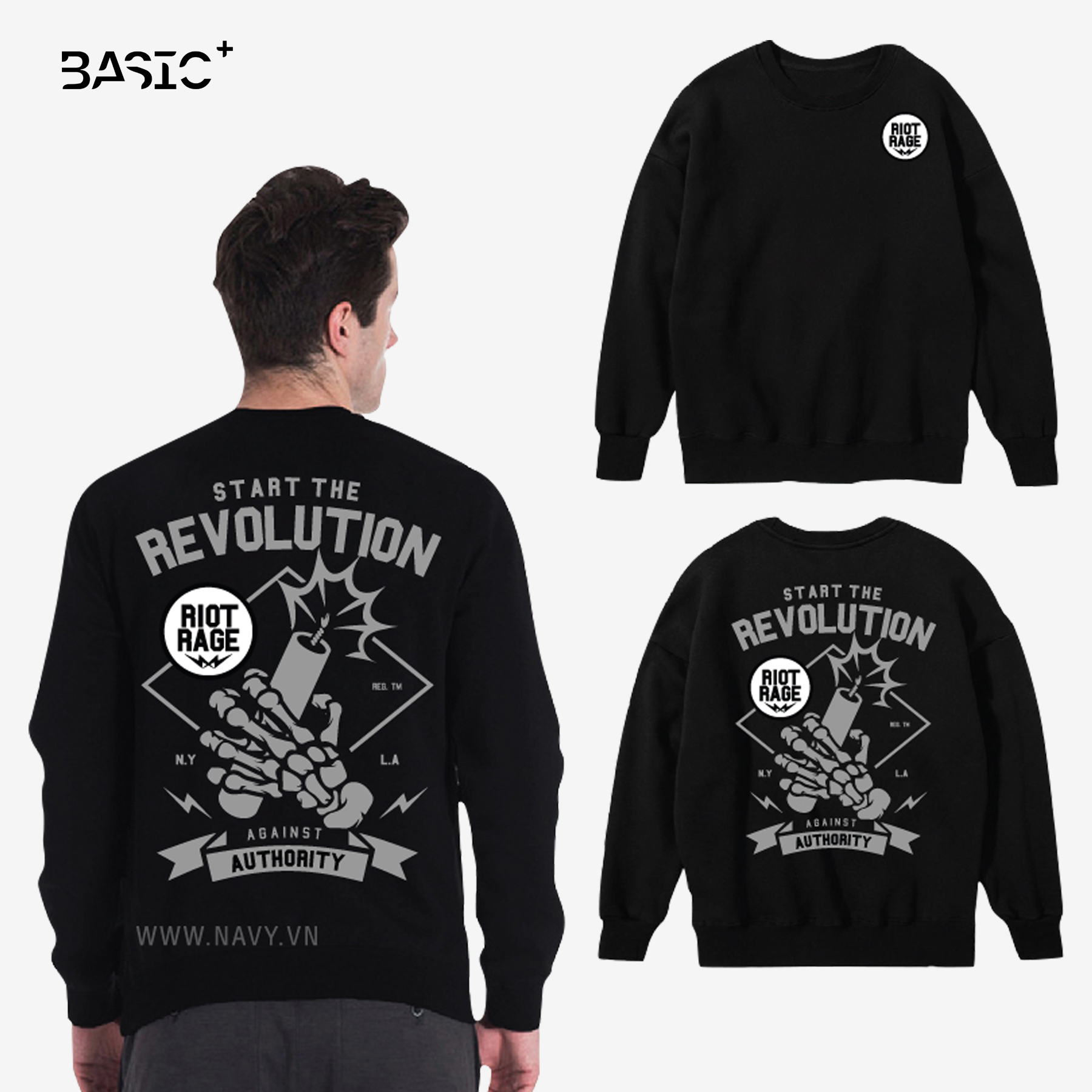 ÁO SWEATER REVOLUTION