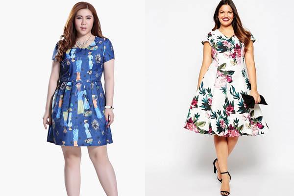 Váy xòe công sở cho người béo nên mặc như thế nào đẹp & cuốn hút?