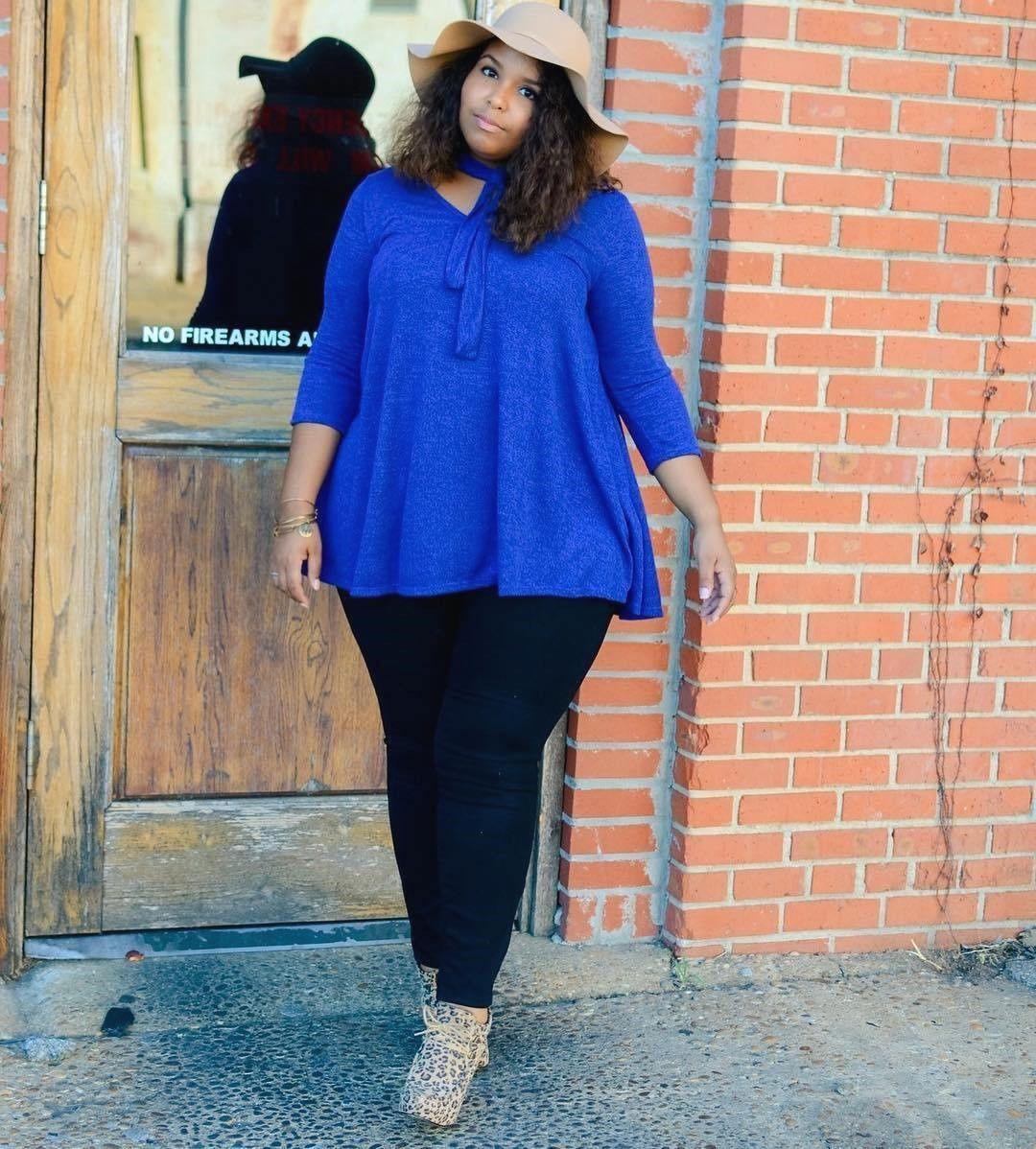 Bloger fashion ngoại cỡ