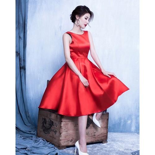 đầm dạ tiệc đỏ