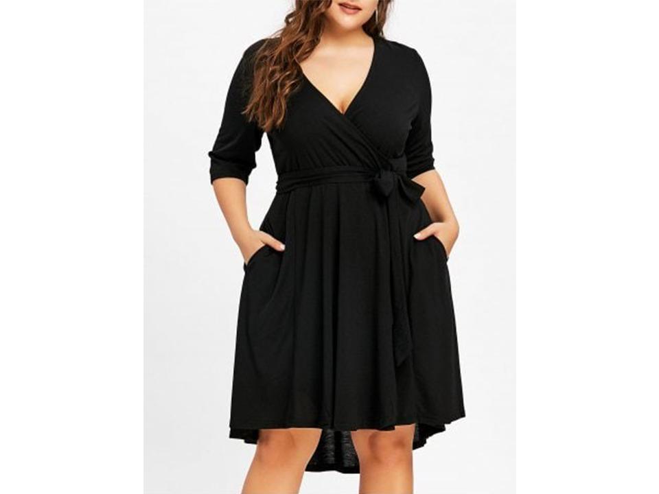 mẫu váy ngoại cỡ