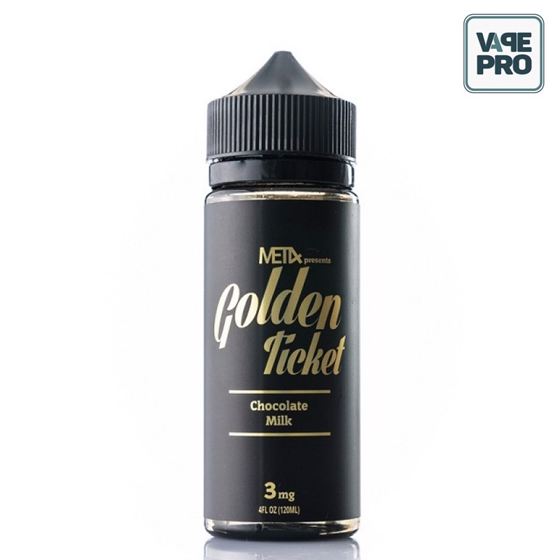 GOLDEN TICKET ( Chocolate milk) - MET4 - 100ML