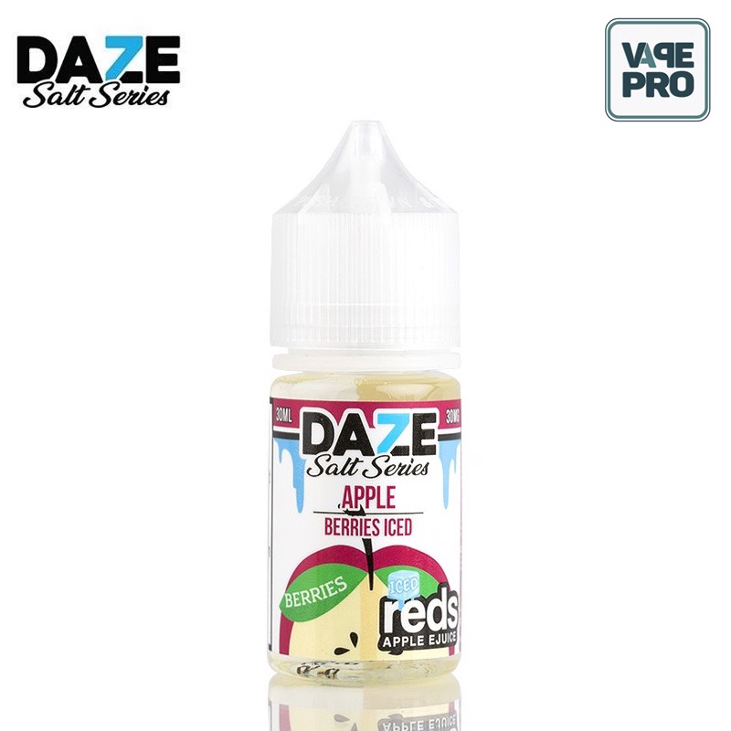 Berries Iced (Dâu rừng lạnh)- Reds Apple Nic Salts Eliquid by 7 Daze