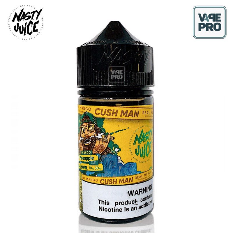 MANGO PINEAPPLE CUSH MAN (Xoài Dứa lạnh) - NASTY JUICE E-LIQUID - 60ML