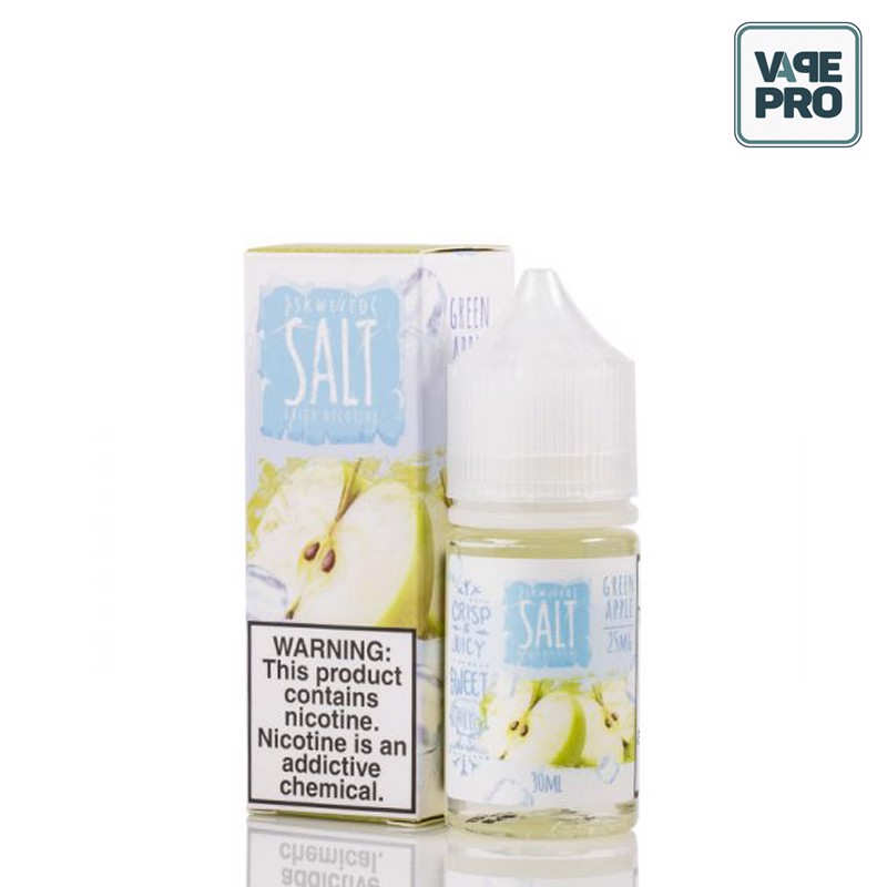 ICED GREEN APPLE (Táo xanh lạnh) - SKWEZED SALT - 30ML