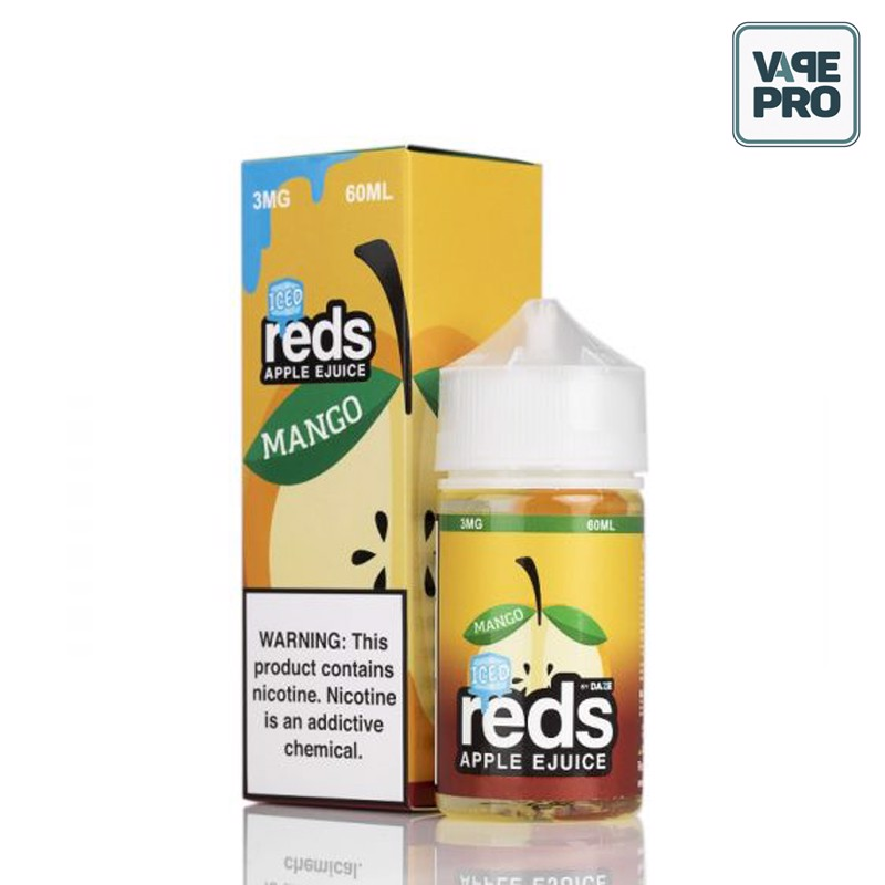 ICED MANGO (Táo xoài lạnh) - RED'S APPLE E-JUICE - 7 DAZE - 60ML