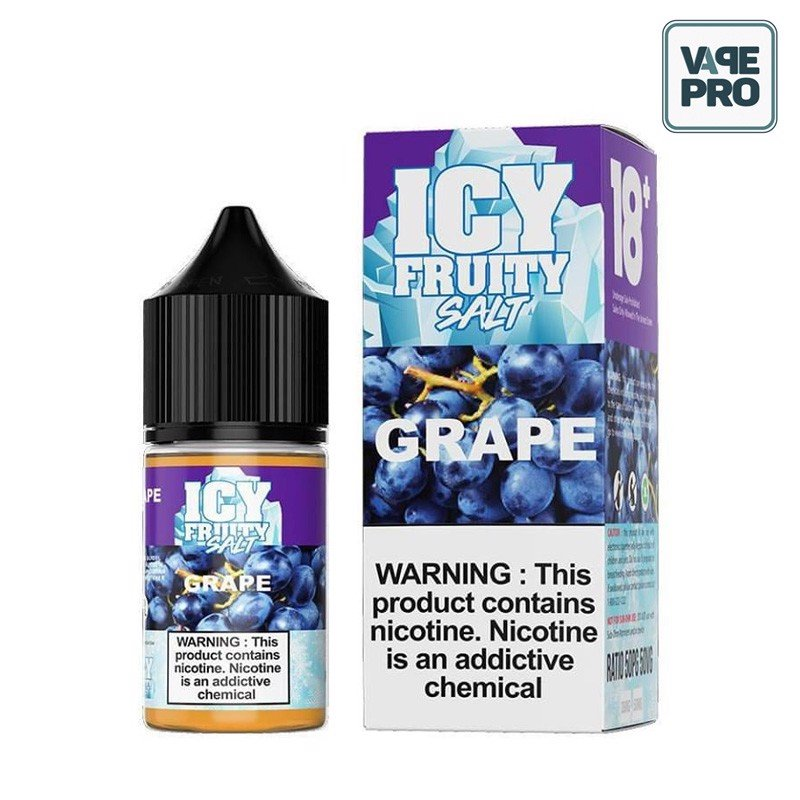Grape (Nho lạnh) Icy Fruity Salt 30ML