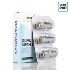Pack 3 Coils 0.4 ohm Dual Mesh Coil thay thế cho KNIGHT 80 Pod System By Smoant