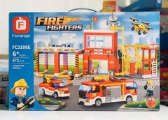 Fire Fighter 872pcs