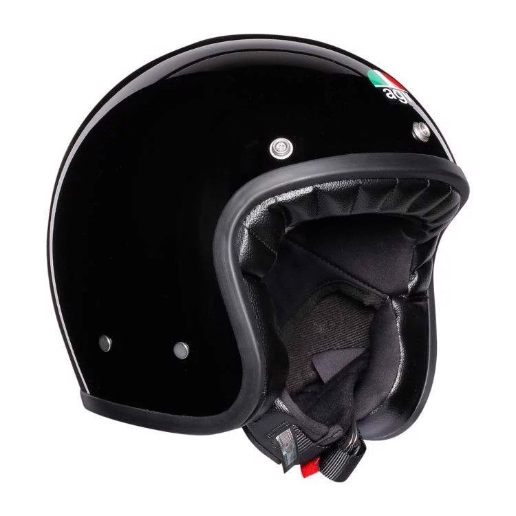 X70 AGV ASIA SOLID ASIAN FIT MATT BLACK