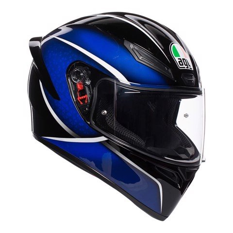 K1 AGV E2205 MULTI ASIA FIT QUALIFY BLACK/BLUE