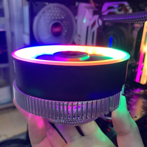 Fan CPU Led RGB CoolMoon Q2 - Q2RGB