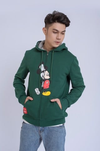 HOODIZIP NAM REGULAX MICKEY SPLIT