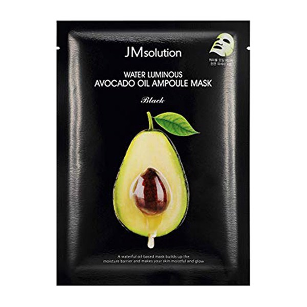 Mặt nạ giấy chiết xuất Bơ JMsolution Water Luminous Avocado Nourishing In Oil Mask