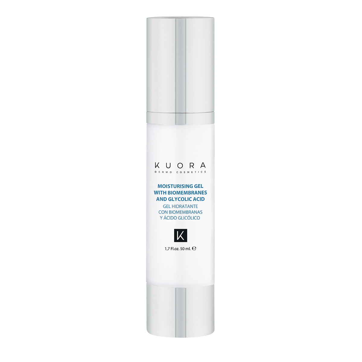 Moisturising Gel Biomembranes & Glycolic Acid KUORA