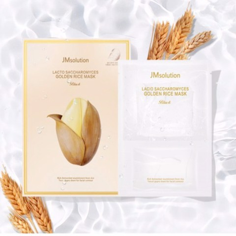 Mặt nạ giấy tinh chất gạo JMsolution Lacto Saccharomyces Golden Rice Mask