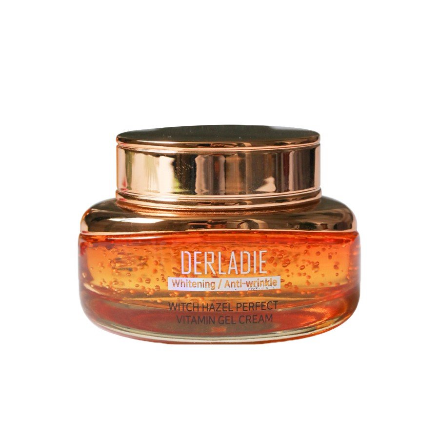 Kem dưỡng ẩm DERLADIE Witch Hazel Perfect Vitamin Gel Cream 55ml