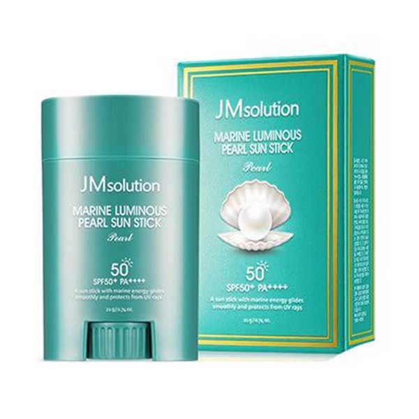 Lăn chống nắng JMsolution Marine Luminous Pearl Light Sun Stick SPF50 20g
