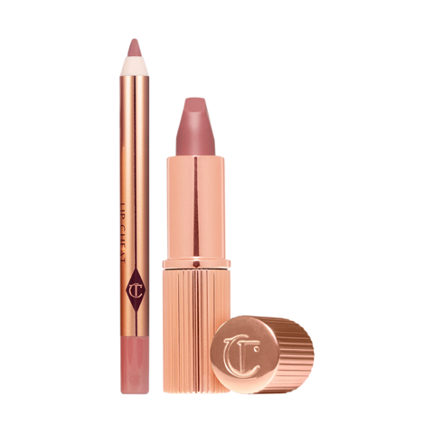 Set son CHARLOTTE TILBURY Mini Pillow Talk Lipstick & Liner Mini