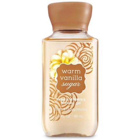 Sữa Tắm Bath & Body Works warm vanilla sugar Shower Gel 88ml