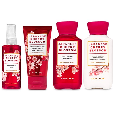 Set Mini Bath & Body Works JAPANESE