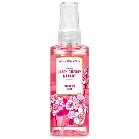 Xịt thơm toàn thân Bath & Body Works BLACK CHERRY MERLOT 88ml