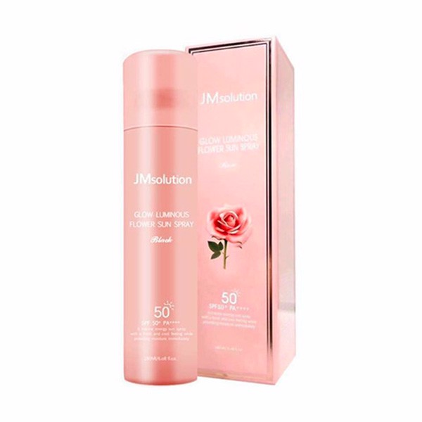 Xịt chống nắng JMsolution Glow luminous flower SPF50+ PA++++  180ml